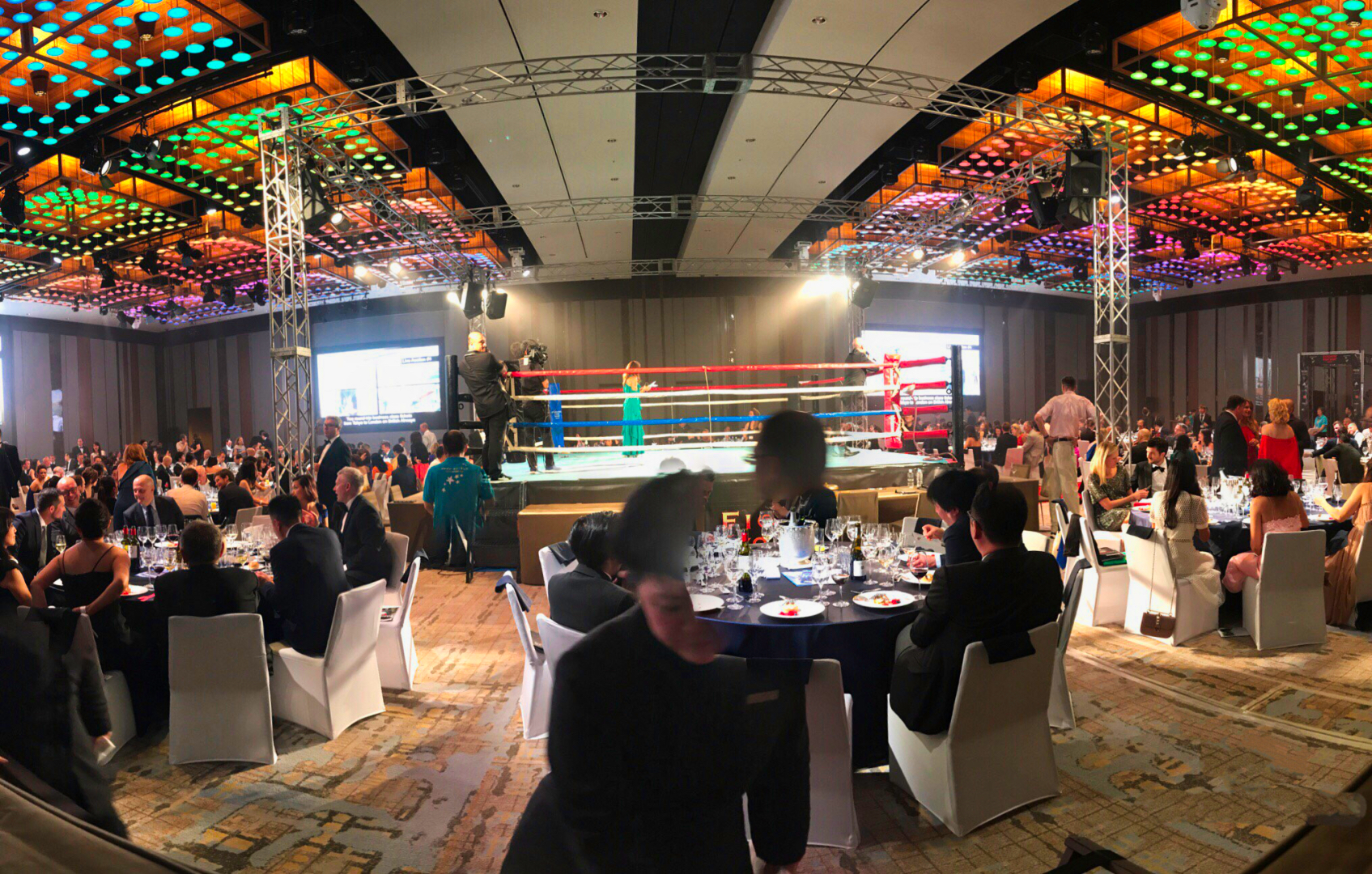 Live Event Streaming – Executive Fight Night